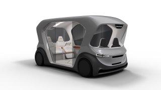 Bosch koncept vozu kyvadlové dopravy CES 2019 4