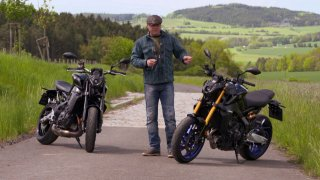 Recenze motocyklu Yamaha MT-09 SP