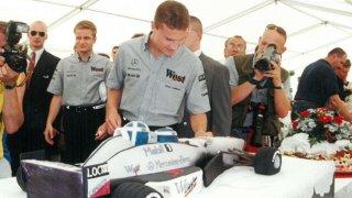 Českou republiku navštíví David Coulthard. Zúčastní se vyhlášení nejlepších českých motoristických sportovců.
