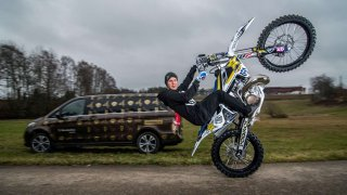 Libor Podmol sedlá novou motorku. Pro Husqvarnu se rozhodl také kvůli Dakaru!