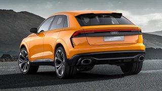 Audi Q8 se zatím představilo pouze jako koncept.