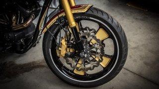 Motocykl přední část