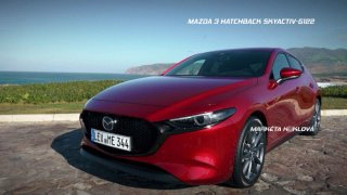 Recenze nové generace Mazdy 3 Hatchback