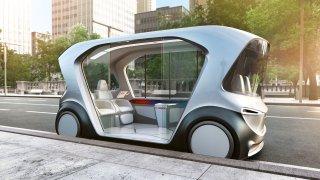 Bosch autonomní auto