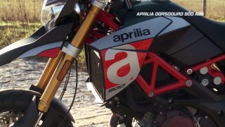 Test supermotardu Aprilia Dorsoduro 900 ABS