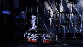 Audi e-tron ve Faradayově kleci 2