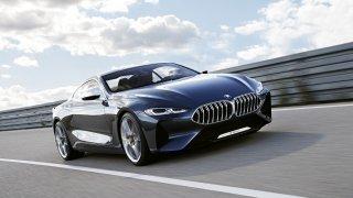 BMW řady 8 Concept. Staré jméno, nový styl