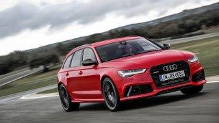Audi RS6 Avant performance jede bez omezovače 305!