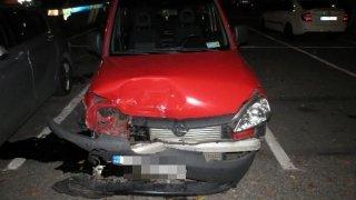 Se dvěma a půl promile v krvi a tátovým autem naboural, co se dalo. Řidičák měl sotva měsíc