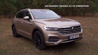 Recenze velkého SUV Volkswagen Touareg 3.0 TDI Atmosphere (repríza)