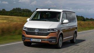 Volkswagen California 6.1: legendární kempingový vůz lze nyní ovládat dotykově