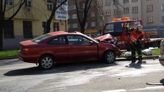 Nehoda ilustrace