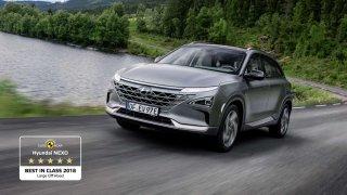 "Hyundai NEXO má ocenění ""Best in Class"""