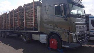 Botička na kamionu