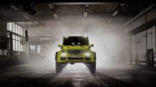 Mercedes G500 4x4 Na druhou končí 2
