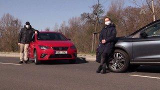 Dvojtest Seatu Arona TGI a Seatu Ibiza TGI - malých vozů na CNG