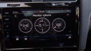 VW Golf 1.5 TSI Evo interiér 2