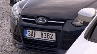 Test ojetiny Ford Focus 1