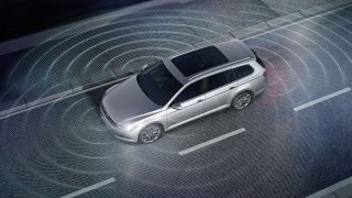 Volkswagen sledování okolí vozidla