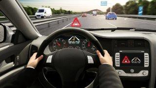 Varování před vozem v protisměru