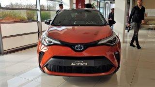 Nová Toyota CH-R