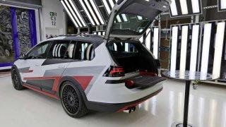Volkswagen Golf Variant TGI