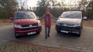 Test Volkswagenu Transporter 6.1 a Multivan 6.1
