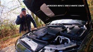 Test Mercedesu C Coupé 220d 4Matic