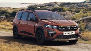 Český sen o dostupném novém rodinném autě se zhmotňuje v podobě nové Dacie Jogger. Až na motor