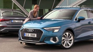 Recenze Audi A3 hatchback 40 TFSIe a Audi A3 sedan S line 35 TDI S Tronic