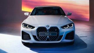 BMW i4 M sport.