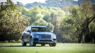 Bentley obložení interiéru 1