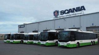 Scania dodává plynové autobusy na severní Moravu a do Slezska