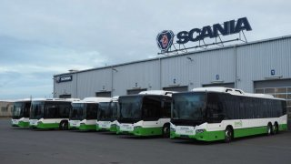 Scania CNG bus