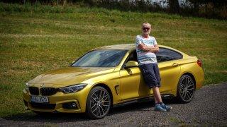 """""""Zelené peklo"""" v Čechách - BMW i440 GrandCoupé xDr"""
