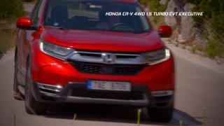 Recenze rodinného SUV Honda CR-V 1.5 VTEC Turbo CVT 4x4 Executive