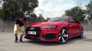 Test sportovního kombi Audi RS4 Avant