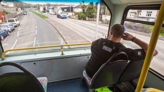 Policejní kontrola může číhat i v autobuse 1