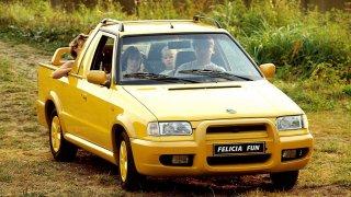 Před 25 lety vyjela Felicia Fun. Pickup se čtyřmi sedadly už dnes stojí téměř stejně jako kdysi nový