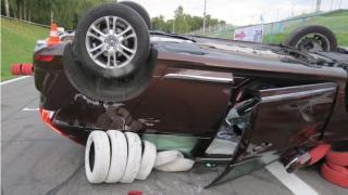 Volvo XC60 nehoda 1