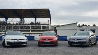 Vytáhli jsme sportovní deriváty Volkswagenu Golf na závodní okruh. Ne každému chutnal