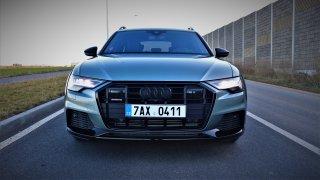SUV, třeste se. Po svezení s Audi A6 allroad quattro vypadáte z většiny úhlů pohledu jako zbytečnost