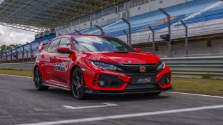 Honda Civic Type R - rekord Estoril