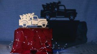 auto a Vánoce