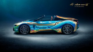 BMW i8 Roadster 4 elements by Milan Kunc 3