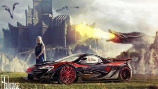 Jakými auty be jezdily postavy ze Hry o trůny? 3