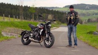 Recenze motocyklu Triumph Trident 660