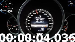 To je síla! Mercedes od AMG dá 200 km/h pod 6 sekund
