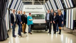 Volkswagen vyrobil v Poznani dvoumiliontého Caddyho