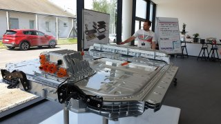 Audi e-tron baterie